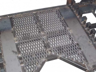 Expanded Metal Sheet for Farm Machinary