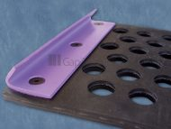 Rubber Length Tensioning Screen with Standard Fold