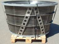 Stainless Steel Wedge Wire Centrifuge Basket