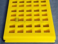 Polyurethane Modular Full Casted Large Mesh Screens