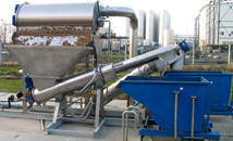 Waste Water Screening Machines / Gaparator