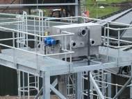 Gaparator ERS 1500 & Gaparator CRS 250 Compactor with Chutes, Hoppers & Access Platform - Muntons Plc