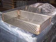 Perforated Metal Sheet for Hardening Basket