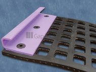Rubber Length Tensioning Screen with Parallel Fold