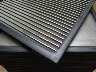 Gap Wedge Wire & Rubber Encapsulated Screens