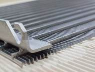 Hydro Screens and Panels with Profiled Fixing Brackets / Wedge Wire Water Treatment Clarification