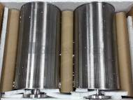 Turbine-Cylinders / Wedge Wire Water Treatment Clarification