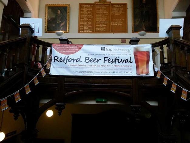 Retford Beer Festival 2014 Banner